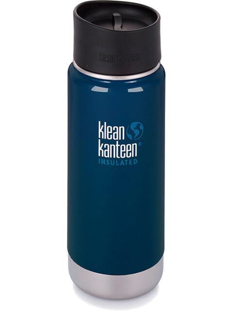 Klean Kanteen Insulated Wide Café Bootle 16oz (473 ml) Deep sea